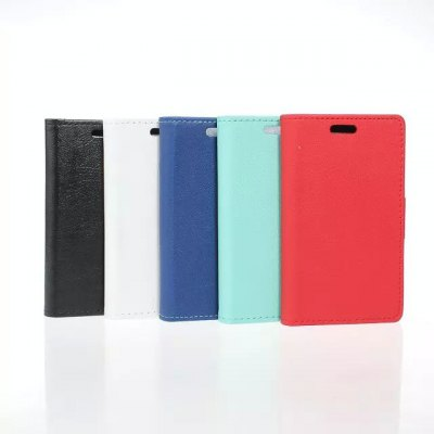 Фотография PU and PC Material Card Holder Cover Case with Stand for Samsung Galaxy Z1
