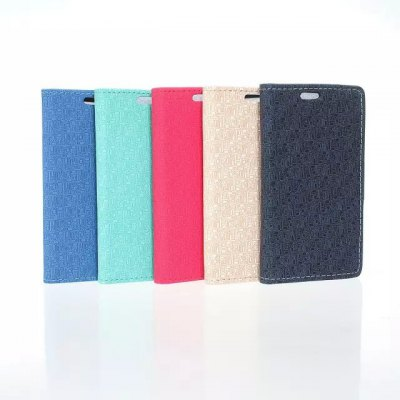 Фотография Maze Pattern PU and PC Material Card Holder Cover Case with Stand for Samsung Galaxy J1