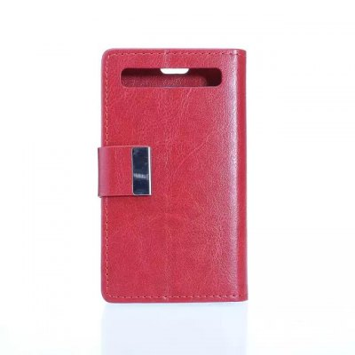 Гаджет   Crazy Horse Pattern PU and PC Material Card Holder Cover Case with Stand for Blackberry Q20 Other Cases/Covers