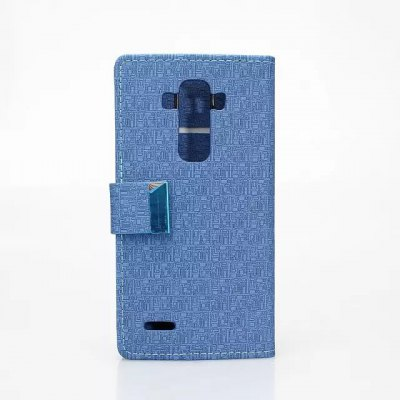 Maze Pattern PU and PC Material Card Holder Cover Case with Stand for LG G4Cases &amp; Leather<br>Maze Pattern PU and PC Material Card Holder Cover Case with Stand for LG G4<br><br>Compatible models: LG G4<br>Features: Cases with Stand, Full Body Cases, With Credit Card Holder<br>Material: Plastic, PU Leather<br>Style: Novelty<br>Color: Black, Beige, Rose, Green, Blue<br>Product weight: 0.060 kg<br>Package weight: 0.111 kg<br>Product size (L x W x H) : 15 x 8 x 1 cm / 5.90 x 3.14 x 0.39 inches<br>Package size (L x W x H): 15.2 x 8.2 x 1.2 cm / 5.97 x 3.22 x 0.47 inches<br>Package Contents: 1 x Case