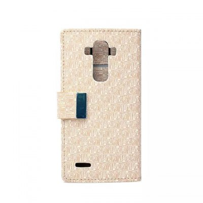 Maze Pattern PU and PC Material Card Holder Cover Case with Stand for LG G4Cases &amp; Leather<br>Maze Pattern PU and PC Material Card Holder Cover Case with Stand for LG G4<br><br>Compatible models: LG G4<br>Features: With Credit Card Holder, Cases with Stand, Full Body Cases<br>Material: Plastic, PU Leather<br>Style: Novelty<br>Color: Green, Blue, Black, Beige, Rose<br>Product weight: 0.060 kg<br>Package weight: 0.111 kg<br>Product size (L x W x H) : 15 x 8 x 1 cm / 5.90 x 3.14 x 0.39 inches<br>Package size (L x W x H): 15.2 x 8.2 x 1.2 cm / 5.97 x 3.22 x 0.47 inches<br>Package Contents: 1 x Case