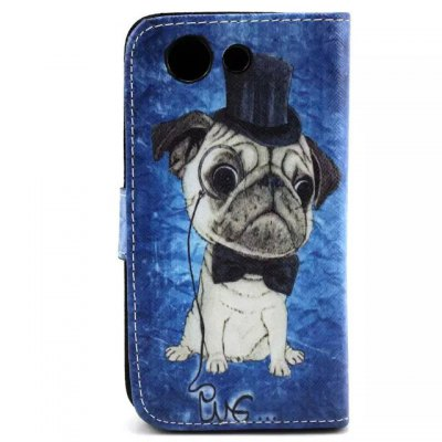 Stand Design Phone Cover Case of Dog Pattern PU and PC Material for Sony Xperia Z3 miniCases &amp; Leather<br>Stand Design Phone Cover Case of Dog Pattern PU and PC Material for Sony Xperia Z3 mini<br><br>Compatible with: Sony, Z3 Compact<br>Features: With Credit Card Holder, Cases with Stand, Full Body Cases<br>Material: PU Leather, Plastic<br>Style: Cartoon<br>Product weight: 0.060 kg<br>Package weight: 0.120 kg<br>Product size (L x W x H) : 13 x 7 x 1 cm / 5.11 x 2.75 x 0.39 inches<br>Package size (L x W x H): 13.2 x 7.2 x 1.2 cm / 5.19 x 2.83 x 0.47 inches<br>Package Contents: 1 x Case