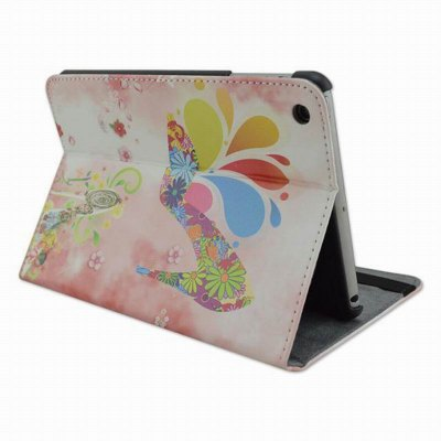 Фотография Painted Heels Design Pad Cover PU Case Skin with Stand Function for iPad 3