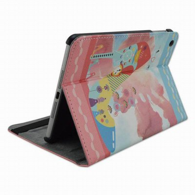Фотография Painted Heels Design Pad Cover PU Case Skin with Stand Function for iPad 5