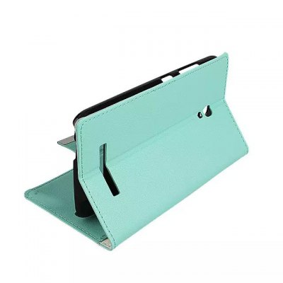 Фотография PU and PC Material Card Holder Cover Case with Stand for Alcatel One Touch POP S9