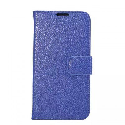 Litchi Pattern PU and PC Material Card Holder Cover Case with Stand for Samsung Galaxy S6 Edge