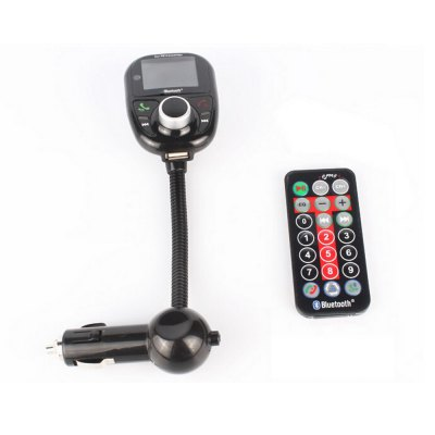 Фотография Jtron Car Charger Style A2DP Bluetooth Hands Free FM Transmitter for Music Phonecalls