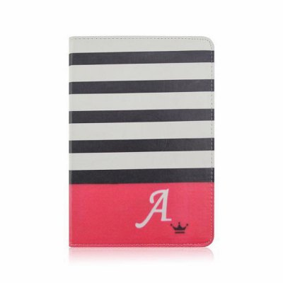 Гаджет   Crown Stripes Design Pad Cover PU Case Skin with Stand Function for iPad 5 / Air iPad Cases/Covers