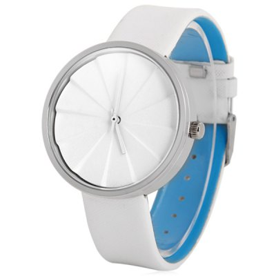 Гаджет   Mitina Unisex Japan Movt Quartz Watch Fan Leaves Style Wristwatch Unisex Watches
