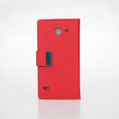 Гаджет   PU and PC Material Card Holder Cover Case with Stand for Huawei Ascend Y550 Other Cases/Covers