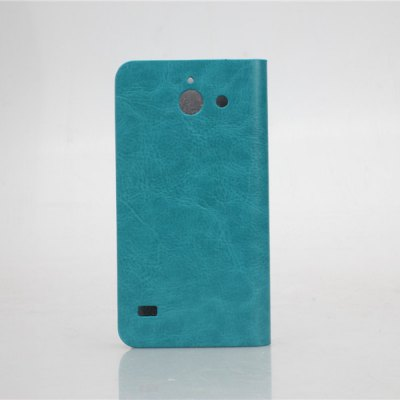 Гаджет   Crystal Grain Pattern PU and PC Material Card Holder Cover Case with Stand for Huawei Ascend Y550 Other Cases/Covers