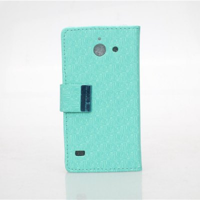 Гаджет   Maze Pattern PU and PC Material Card Holder Cover Case with Stand for Huawei Ascend Y550 Other Cases/Covers