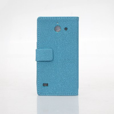 Гаджет   Gravel Pattern PU and PC Material Card Holder Cover Case with Stand for Huawei Ascend Y550 Other Cases/Covers