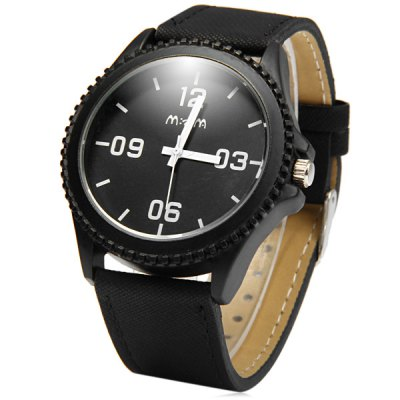 Гаджет   Mitina 10 Casual Style Leather Band Male Quartz Watch Men