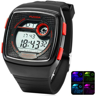 TD 1869 Military Sports Watch Multifunction Flash LED Wristwatch