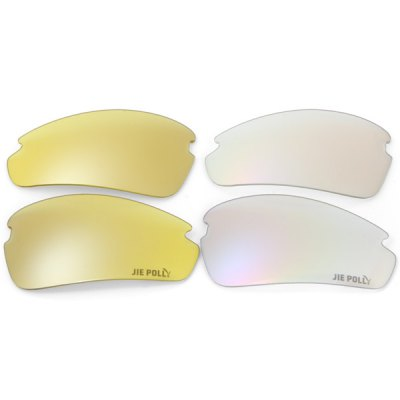 Фотография JIE POLLY Ultra - light Bicycle Sunglasses UV400 Eyewear Goggle Eye Protector Set Cycling Necessaries