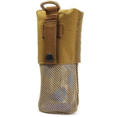 Фотография Durable Water Bottle Kettle Bag Nylon Mesh Pack for Travel Camping Cycling Hiking