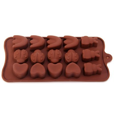 DIY Animals Pattern Chocolate Pudding Ice Mould for Household Supplies