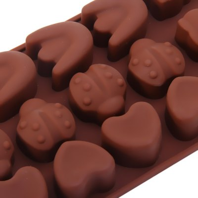 Фотография DIY Animals Pattern Chocolate Pudding Ice Mould for Household Supplies