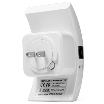 Фотография WR01 2.4GHz 300Mbps Wireless Repeater Router WiFi Signal Extender
