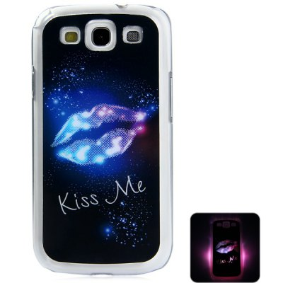 LED Incoming Call Shining Back Cover Case for Samsung Galaxy S3 i9300