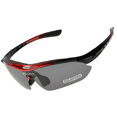 Фотография ROCKBROS Super Resilience Outdoor Sports Polarized Bicycle Sun Glasses for Men / Women