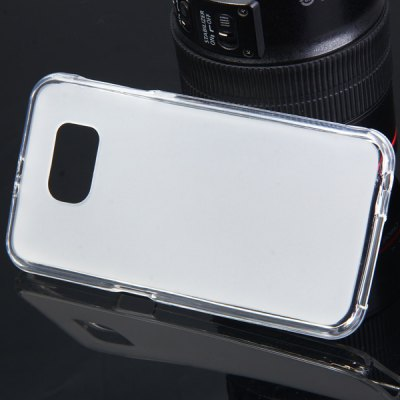 Mobile Phone Protective Silicone Gel Back Cover for Samsung Galaxy S6 G9200