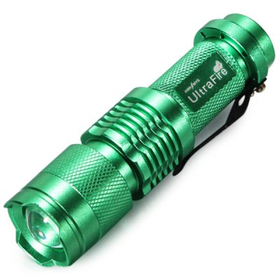 UltraFire Cree XPE Q5 300Lm Zooming LED Flashlight