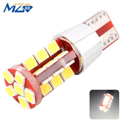 MZ T10 15W 1500lm White Light 30 SMD 2835 LEDs Car Width Lamp
