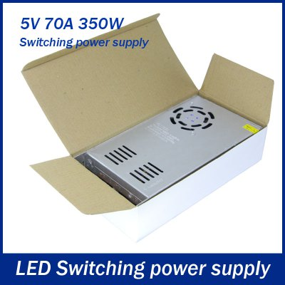 Фотография 350W 70A DC 5V Output Switching Power Supply Transformer for LED Strip Light