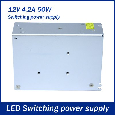 Фотография AC 85  -  264V to DC 12V 50W 4.2A Switching Power Supply for LED Tape Light