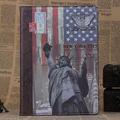 PU and PC Material Statue of Liberty Pattern Protective Cover Case with Stand for iPad AiriPad Cases/Covers<br>PU and PC Material Statue of Liberty Pattern Protective Cover Case with Stand for iPad Air<br><br>Compatible for Apple: iPad Air<br>Features: Dirt-resistant, Anti-knock, Cases with Stand, Full Body Cases<br>Material: PU Leather, Plastic<br>Style: Vintage, Novelty<br>Product weight : 0.270 kg<br>Package weight : 0.330 kg<br>Product size (L x W x H): 24 x 17 x 1 cm / 9.43 x 6.68 x 0.39 inches<br>Package size (L x W x H) : 24.2 x 17.2 x 1.2 cm / 9.51 x 6.76 x 0.47 inches<br>Package Contents: 1 x Case