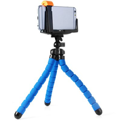 Фотография Sponge Cover Tripod Mount and Phone Clip Holder Set