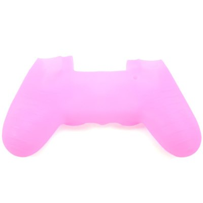 Sweat Resistant / Anti-slip Controller Protective Case Single Color Silicone Gel Cover for PS4