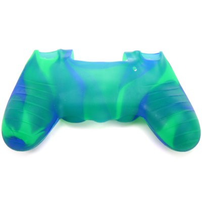 Фотография Sweat Resistant / Anti-slip Controller Protective Case Silicone Gel Cover for PS4
