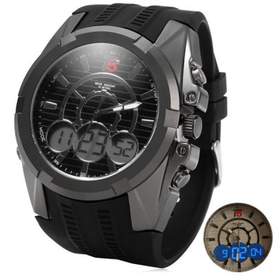 ФОТО T5 3352 Analog Digital Water Resistance Multifunctional LED Sports Watch