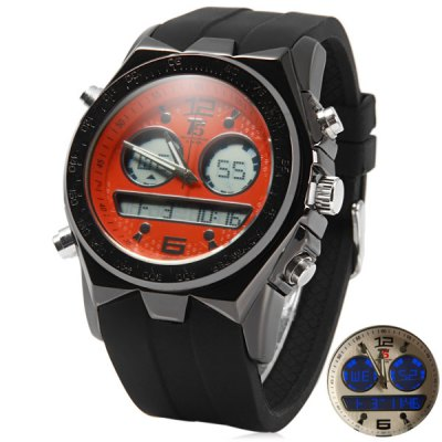 T5 3354 LED Sports Watch Japan Movt Water Resistant Wristwatch