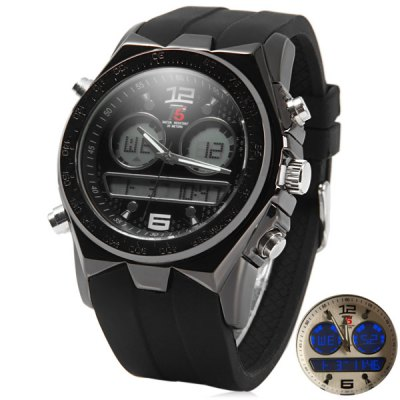 Фотография T5 3354 LED Sports Watch Japan Movt Water Resistant Wristwatch