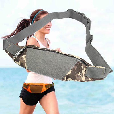 Outdoor Sports Canvas Waist Bag