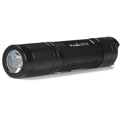 Фотография Fenix E12 Cree XP E2 Compact Waterproof EDC LED Flashlight 130Lm 3 Modes Torch