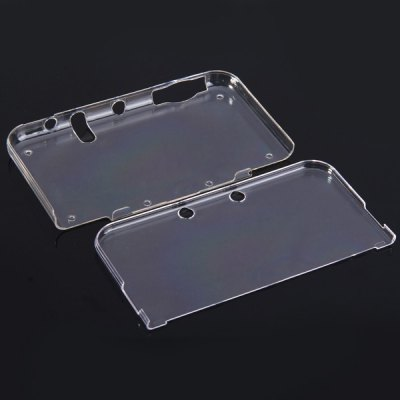 Separate Transperant Plastic Cover for 3DS XL