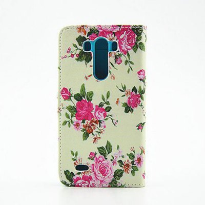 Painting Flowers Pattern Phone Cover PU Case Skin with Stand Function for LG G3Cases &amp; Leather<br>Painting Flowers Pattern Phone Cover PU Case Skin with Stand Function for LG G3<br><br>Compatible models: LG G3<br>Features: With Credit Card Holder, Cases with Stand, Full Body Cases, Back Cover<br>Material: Plastic, PU Leather<br>Style: Cute, Modern, Floral, Name Brand Style, Novelty<br>Product weight: 0.060 kg<br>Package weight: 0.120 kg<br>Product size (L x W x H) : 15 x 7.5 x 1 cm / 5.90 x 2.95 x 0.39 inches<br>Package size (L x W x H): 17 x 10 x 3 cm / 6.68 x 3.93 x 1.18 inches<br>Package Contents: 1 x Case