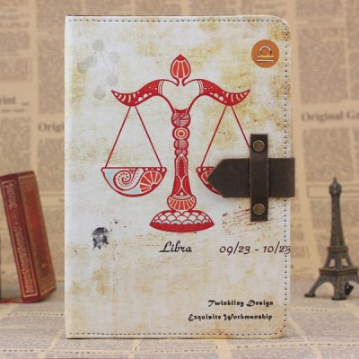 ФОТО PU and PC Material Retro Libra Pattern Protective Cover Case with Stand for iPad mini 2