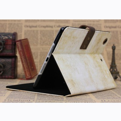 Фотография PU and PC Material Retro Capricorn Pattern Protective Cover Case with Stand for iPad mini 2