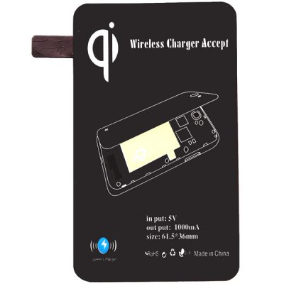 Фотография Link Dream X7 QI Wireless Charger + Charging Receiver ABS + PU