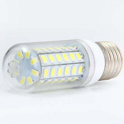 Sencart E27 11W 2200Lm 56 x SMD 5730 White Light Transparent LED Corn Bulb ( 220  -  240V )