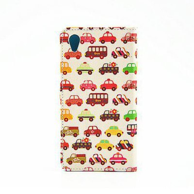 Stand Design Car Pattern PU and PC Material Phone Cover Case for Sony Xperia Z1Cases &amp; Leather<br>Stand Design Car Pattern PU and PC Material Phone Cover Case for Sony Xperia Z1<br><br>Other compatible models: Xperia Z1/L39h<br>Features: With Credit Card Holder, Cases with Stand, Full Body Cases<br>Material: Plastic, PU Leather<br>Style: Novelty<br>Product weight: 0.060 kg<br>Package weight: 0.120 kg<br>Product size (L x W x H) : 14.44 x 7.39 x 0.85 cm / 5.67 x 2.90 x 0.33 inches<br>Package size (L x W x H): 14.64 x 7.59 x 1.05 cm / 5.75 x 2.98 x 0.41 inches<br>Package Contents: 1 x Case
