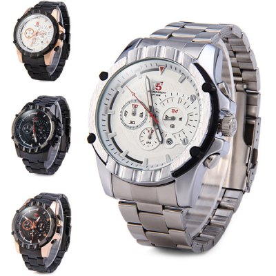Гаджет   T5 3388 Business Male Quartz Watch Date Function Chronograph Wristwatch Men