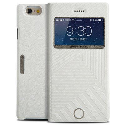 Гаджет   100PCS Joyroom Stripe Pattern PU and PC Material Cover Case for iPhone 6  -  4.7 inches iPhone Cases/Covers