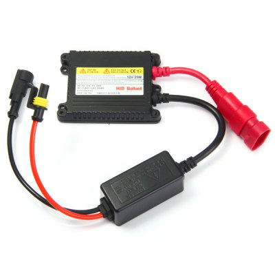 35W 12V HID Xenon Slim Standard Replacement BallastLED Accessories<br>35W 12V HID Xenon Slim Standard Replacement Ballast<br><br>Accessory type: Controller<br>Input Voltage: 9 - 16V<br>Output Power: 35W ± 2W<br>Product weight: 0.167 kg<br>Package weight: 0.250 kg<br>Product size (L x W x H): 14 x 9 x 2.5 cm / 5.50 x 3.54 x 0.98 inches<br>Package size (L x W x H): 15 x 10 x 5 cm / 5.90 x 3.93 x 1.97 inches<br>Package Contents: 1 x HID Ballast, 1 x Set Up Package